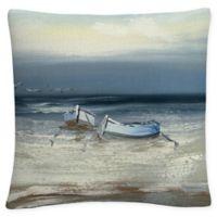 Trademark Fine Art Rio Low Tide Square Throw Pillow