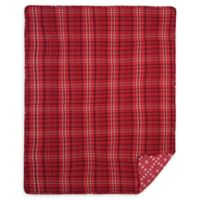 Andrew Red Throw Blanket in Red