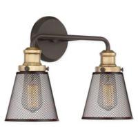 Quoizel Vault 2-Light Vanity Light in Western Bronze