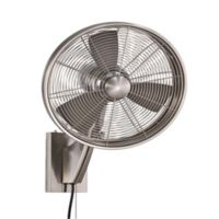 Minka-Aire® Anywhere 15-Inch Wall Fan in Brushed Nickel