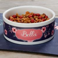 Personalised Fan Shape Pattern Custom Design Dog Bowl Cat Pet Food Dinner Dish Cat Supplies Dog Supplies