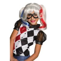 DC Superhero Girls Harley Quinn Child Halloween Wig