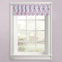 Priya Ogee Window Valance in Plum