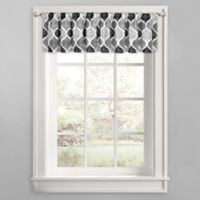 Priya Ogee Window Valance in Grey