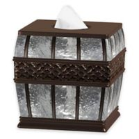 NuSteel Ice Boutique Tissue Box Cover in Orb