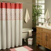 Sherry Kline Romance Shower Curtain in Orange/Pink