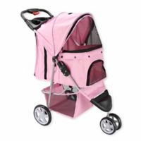 OxGord® Pet Jogger Stroller in Pink