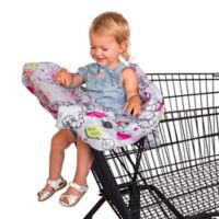 Rosie Pope® Grey Text Bubble Shopping Cart Cover