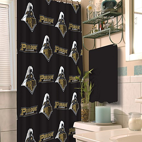 Purdue University 72-Inch x 72-Inch Fabric Shower Curtain