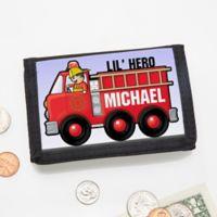 Jr. Firefighter Personalized Wallet