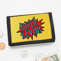 Personalized Superhero Wallet
