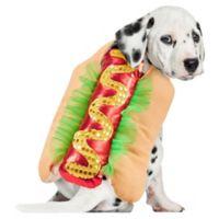 Halloween Pet X-Small Hot Dog Costume