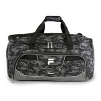 FILA Speedlight 22-Inch Duffle Bag in Black/Grey