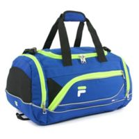 FILA Sprinter Small Duffle Bag in Blue/Lime