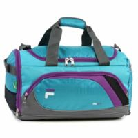 FILA Advantage Small Duffle Bag in Teal