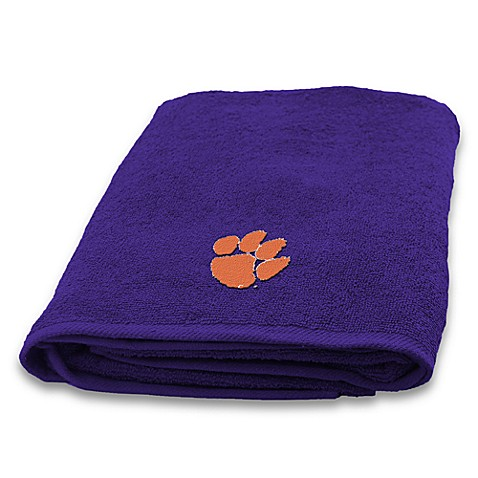 Clemson Univeristy 100% Cotton Bath Towel