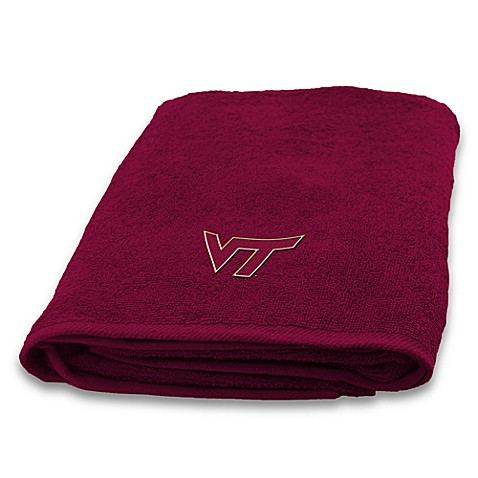 Virginia Tech Bath Towel100% Cotton