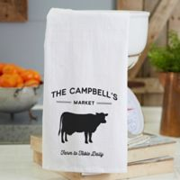 Personalized Farmhouse Kitchen Flour Sack Towel