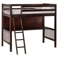 Hillsdale Furniture Pulse Twin Loft Bed in Cherry