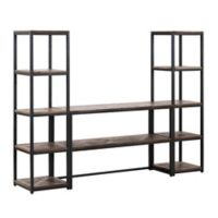 Southern Enterprises Lattimer Reclaimed Wood Media Center