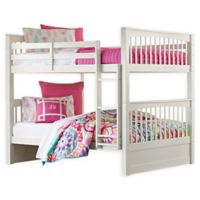 Hillsdale Furniture Pulse Full Over Full Bunk Bed in White