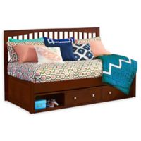 Hillsdale Furniture Pulse Twin Mission Daybed with Storage in Cherry