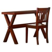 Hillsdale Kids and Teen Pulse Desk and Chair Set in Cherry
