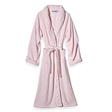 Elizabeth Arden Large/Extra Large Ultra Plush Bathrobe in Pink