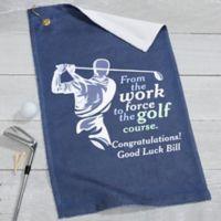 Retirement Golf Towel