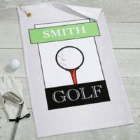 Club Classics Golf Towel