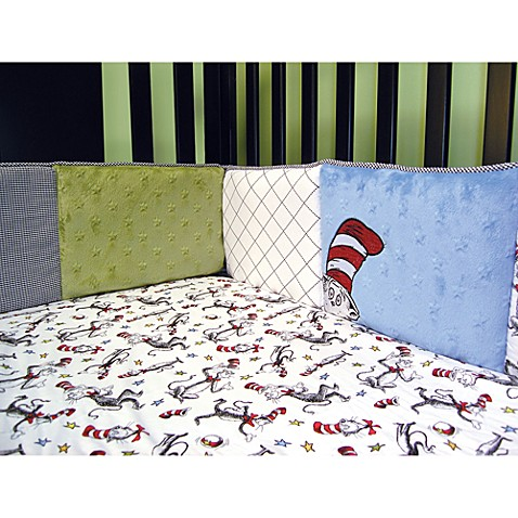 Trend Lab® Dr. Seuss™ Cat in the Hat 4-Piece Crib Bumper Set