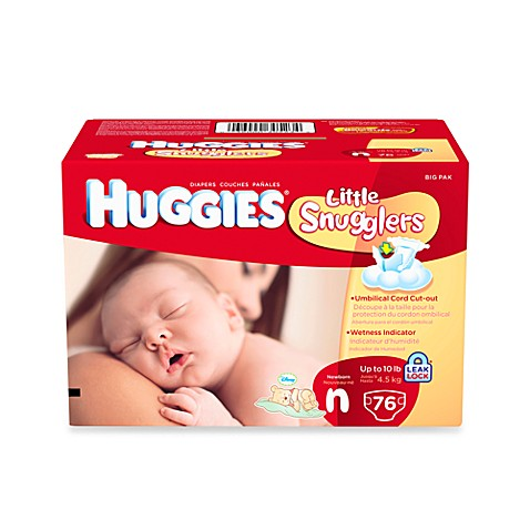 Huggies® Little Snugglers Newborn 76-Count Big Pack Diapers