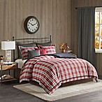 Willamsport Plaid King Comforter Set