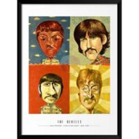 Artography Limited™ The Beatles 19-Inch x 25-Inch Framed Wall Art