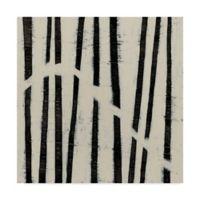 Trademark Fine Art June Erica Vess Hieroglyph VI 18-Inch Square Canvas Wall Art