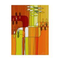 Trademark Fine Art James Burghardt Uplift II 14-Inch x 19-Inch Canvas Wall Art