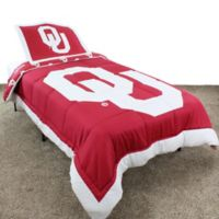 University of Oklahoma Full Comforter Set