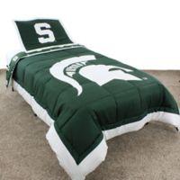 Michigan State University Twin Comforter Set