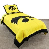 University of Iowa Full Comforter Set