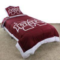 Mississippi State University Twin Comforter Set