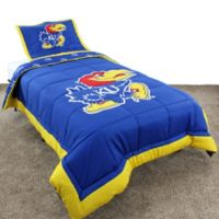 University of Kansas Full Comforter Set
