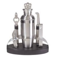 Oggi™ 7-Piece Stainless Steel Oval Bar Set