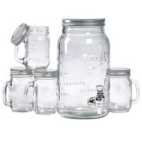 Mason Craft & More 5-Piece Drink Dispense Set