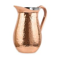 Oggi™ Hammered Stainless Steel Pitcher