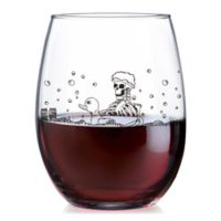 Luminarc Blood Bath Stemless Wine Glass