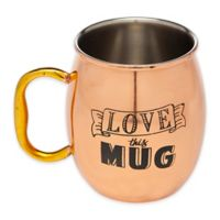 "Godinger ""Love This Mug"" Moscow Mule Mug in Copper"