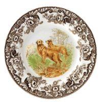 Spode® Woodland Golden Retriever Dinner Plate