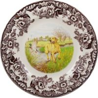 Spode® Woodland Yellow Labrador Dinner Plate