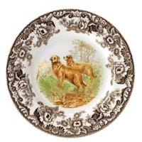 Spode® Woodland Golden Retriever Salad Plate