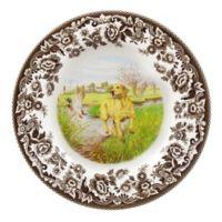 Spode® Woodland Yellow Labrador Salad Plate